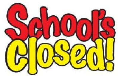 school's closed